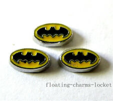 10pcs Bat Hero Floating Charms for Glass Locket Free Shipping FC290