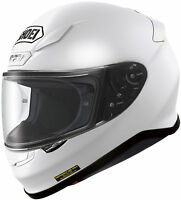 SHOEI RF-1200 FULL FACE MOTORCYCLE HELMET WHITE X-LARGE XL 0109-0109-07