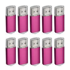 10 Lot 1GB/2GB/4GB/8GB/16GB USB Flash Drives Thumb Pendrive Flash Memory Sticks