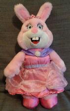 Bunn Leisure Pink bunny Rabbit Princess dress Plush soft toy 14 inches tall