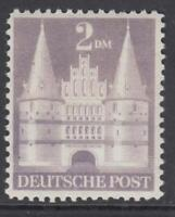 GERMANY - BIZONE American & British occ - Castles  Mi 98/Iwg  perf.11