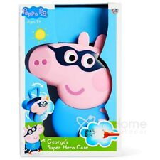Peppa Pig George Super Hero Case Lunch Box with Torch & Dinosaur