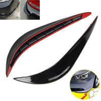 2X Anti-reiben Universal Auto Vordere Stoßstange Eckenschutz Lip Guard Protector