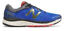 New Masculino Balance 860V8 Nyc Marathon entressola trufuse sapatos Azul Com Ouro