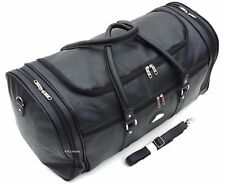 "XXL  24"" Faux Leather Holdall Luggage Weekend Duffel Cabin Travel Gym Bag Case"