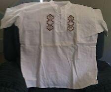Shirt, Unique Ecuadorian Style Size XL (Shirt #4)