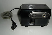 Panasonic Electric Pencil Sharpener KP-310 with Auto-Stop Black TESTED + WORKS!