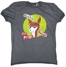 Amplified Offic. Sex Pistols who Puss Bambi Punk Rock Star Vintage T-shirt G.S