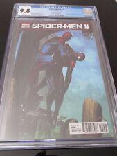 Spider Men II #2 Gabriele Dell'Otto 1:25 hard to find variant  CGC 9.8