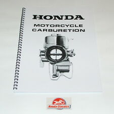 Honda Carburettor Set up Instruction Manual Reproduction. Hwm006