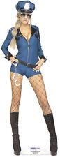 SC-186 Miss Demeanor Police Girl  Höhe 178cm Pappaufsteller Figur Aufsteller