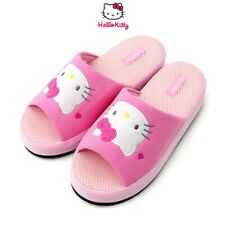 Sanrio Hello Kitty Women's Pink Non Slip Indoor Slippers :Hello Kitty Love