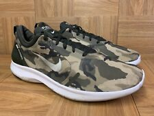 RARE🔥 Nike FLEX Experience RN Army Camo Olive Desert Running Shoe 14 BQ7159-200
