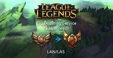 LEAGUE OF LEGENDS - ELO BOOST FOR LAN/LAS (Quick, Discreet & Guaranteed)