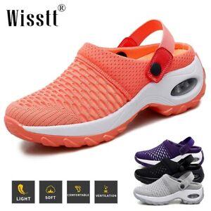 Wisstt Womens Garden Mules Clogs Shoes Sports Sandals Beach Water Slippers Shoes