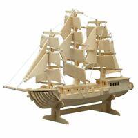 PEBARO Holzbausatz Segelschiff
