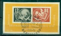 DDR, Debria 1949  Nr. Block 7  gestempelt