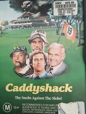 DVD - CADDYSHACK - Chevy Chase & Roger Dangerfield