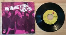 RARE FRENCH SP THE ROLLING STONES MISS YOU