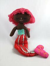 Nwt Spritz Fabric Sequin Mermaid Doll Shelf Figurine Target Valentines Day 2018