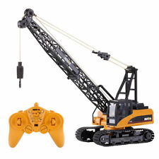 Die Cast RC Tower Crane Truck Hoist 1:10 2.4GHz 15 Channel Remote Control Toy