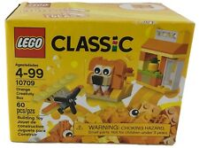 Lego Classic Orange Creativity Box Building Toy 60 Pieces Ages 4-99