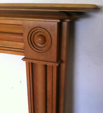 Reclaimed Antique Georgian Style Pine Wooden Fireplace Surround Mantel (PK140)