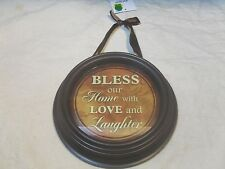 New ~ Wall Décor Inspirational Plaque ~ Plastic (#2)