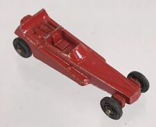 Vintage Tootsie Toys Red Wedge Dragster Diecast Metal 1:64 Sports Drag Race Car