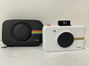 Polaroid Snap 10.0MP Digital Camera - White - W/ Case