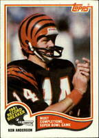 1982 Topps Football Base Singles #1-425 (Pick Your Cards)