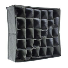 NEW 30 Cells Bamboo Charcoal Ties Socks Drawer Closet Organizer Storage Box DE