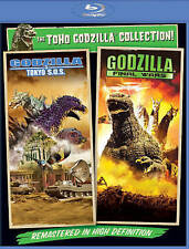 Godzilla Final Wars & Godzilla Tokyo S.O.S. SOS  BLURAY 2pk NEW, SEALED!