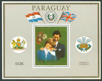 PARAGUAY LADY DIANA Michel Bl 362 b. Mint No Hinged