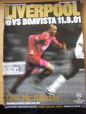 11/09/2001 Liverpool v Boavista [European Cup] (No apparent faults).