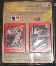 Classic MLB trivia board game 1990 series edition 1