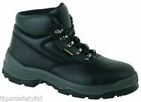 Capps LH811SM S3 Black Mens Safety Boots Steel Toe Cap & Midsole Work Boots PPE