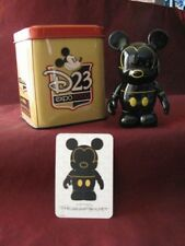 """Disney Expo D23 Mickey Mouse 2009 Vinylmation 3"""" in Tin Le4800 New"""