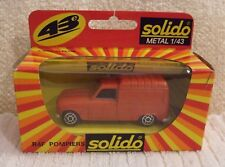 SOLIDO DIECAST MODEL ** RENAULT R4F POMPIERS ** NEW - BOXED (MADE IN PORTUGAL)