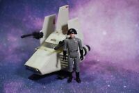 VINTAGE Star Wars COMPLETE IMPERIAL SHUTTLE POD MINI RIG + FIGURE KENNER isp 6