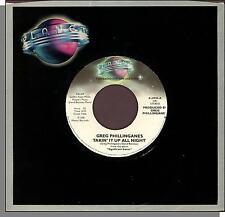 "Greg Phillinganes - Takin' It Up All Night - 1981 Promo 7"" 45 RPM Single!"