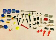50 LOT LEGO ACCESSORY minifig weapons tools tiles & other accessory parts