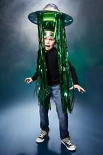 "ALIEN ABDUCTION Light-up Flying Saucer Costume ""Slight Dinged"""