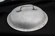 """HAMMERED ALUMINUM 10"""" PAN / POT LID ONLY  SILVER SEAL GRISWOLD WAGNER"""