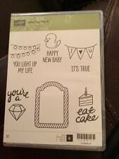 """Stampin Up! """"One Tag Fits All� Stamp Set New #138583"""