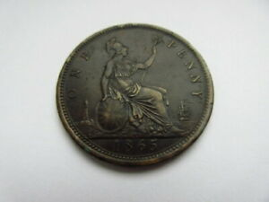 1865 penny
