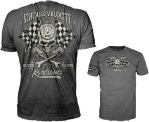 Lethal Threat Wicked Pistons T-Shirt Motorcycle Street Bike