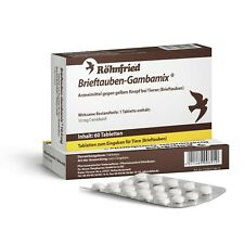 Röhnfried Brieftauben Gambamix 60 Tabletten Tauben Brieftauben Taube Vogel
