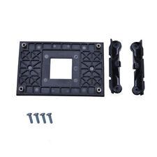 Black CPU Socket Mount Cool Fan Heatsink Bracket Dock For AMD AM4 B370 X350 A320
