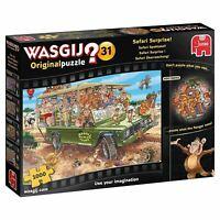 Jumbo Wasgij Original 31 Safari Surprise 1000 piece comic jigsaw puzzle